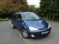 Ford Galaxy 1.9 TDi Automatic Auto Diesel, 1 Year Warranty, not alhambra sharan voyager zafira