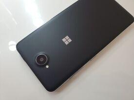 Microsoft Lumia 650 DUAL SIM Unlocked Black on Windows 10 Mobile Latest Version!