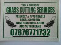TAIN & DORNOCH GRASS CUTTING SERVICES , MOWER STRIMMER