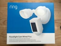 All-new Ring Floodlight Cam Wired Plus by Amazon