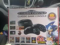 Sega megadrive classic console with 80 games