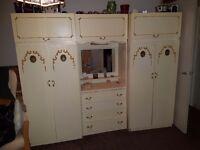 Vintage dresser wardrobe
