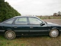 Vauxhall Cavalier 2.0l cdx Spares and repairs of the road about 2 years due to noisy thrush bearing
