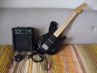Elevation 3/4 Electric Guitar And CB SKY G-5 Practice Amp.