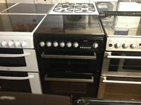 Hotpoint Black electric cooker