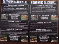 TREE & GARDEN SERVICES
