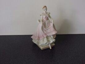 Coalport porcelain figurine. An Enchanted Evening.