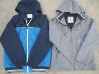 2 LOVELY BOYS SUMMER JACKET/COAT Ideal for Holiday 12-13 years