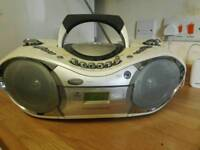 Goodman's CD radio with tape deck