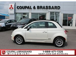 2014 Fiat 500C LOUNGE,CABRIOLET,MAGS,SIÈGES CHAUFFANTS,BLUETOOTH