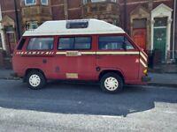 Volkswagon T25 Kameo 12 months mot