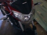 LEXMOTO 125 cc ZSX only 4000 miles ,one owner ,two keys Bargain