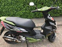Yamaha jog rr 50cc moped fresh 12 months MOT