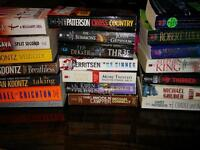 Lot of 20 novels