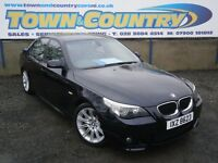 ***2007 BMW 5 Series 535D M SPORT AUTO **FULL LEATHER** ( 520 525 530 535 a4 passat 9-3 octavia a6 )