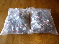 Ceramic caps for glass water bottles, approx 100
