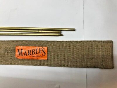 Marbles Cased .22 Cleaning Rod, Brass with tip Swivel but no Tips