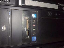 pc intel core 2 duo 2.4 3gb ram 400gb hardrive dvd-writer windows 7