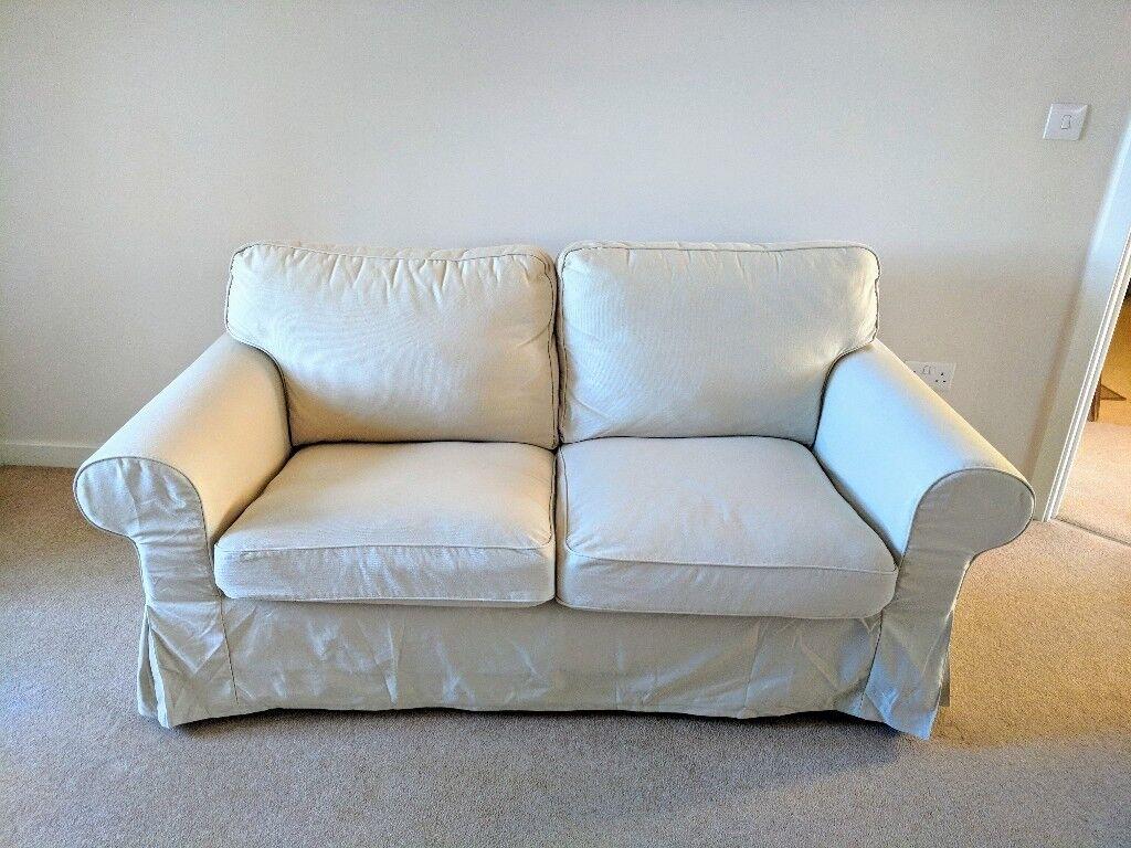 Sofa ikea ektorp  2 Seat Sofa IKEA EKTORP in beige | in Bonnyrigg, Midlothian | Gumtree