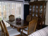 Dining Table and Dresser
