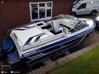 Fletcher Arrowbeau 3.7 ltr mercruiser in board speedboat
