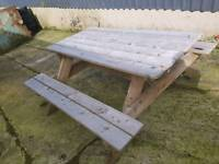 Large picnic benches for sale
