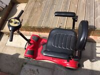 SCOOTER GOOD CONDITION , RIO , NEW BATTERY 18,0width