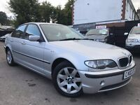 BMW 3 Series 2.0 318i Automatic Full Service History 1 Year MOT 1 Owner Leather Seats + WARRANTY