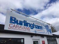 Motorhomes and Caravans Wanted