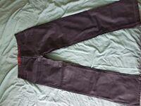 W34 Regular leg mens jeans