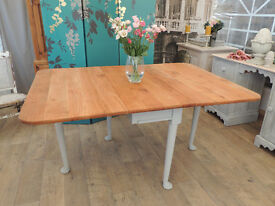 Lovely shabby chic Edwardian dining table