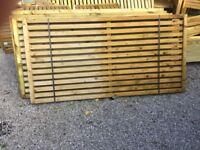 10 Fence Panels. New.