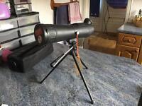 Optus spotting scope