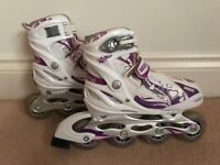 Girls inline roller blades