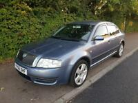 Skoda superb comfort 2.5 V6 sat nav Rare model!