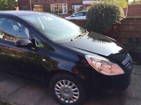 2009 Vauxhall CORSA 1.229 5 Doors Black