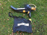 Worx leaf blower/mulcher/vacuum