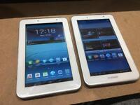 Samsung Galaxy Tab 2 7.0 8GB WiFi with Charging Lead and box