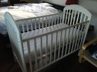 Mamapapas cot and mattress