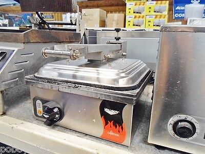 Vollrath Tsa7309 40790 Commercial Non Stick Panini Grill Ribbed Sandwich Press