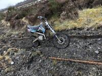 Welsh pitbike 110cc