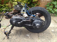 Yamaha Jog ce50, cg50, minarelli vertical engine.