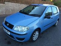 FIAT PUNTO 1.2 ACTIVE ** 05 PLATE ** 64,000 MILES FROM NEW **