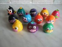 12 Moshi Monsters - Various Characters. Excellent Condition. Only £3