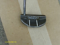 """""""PING"""" PIPER PUTTER RIGHT HAND BLACK DOT"""