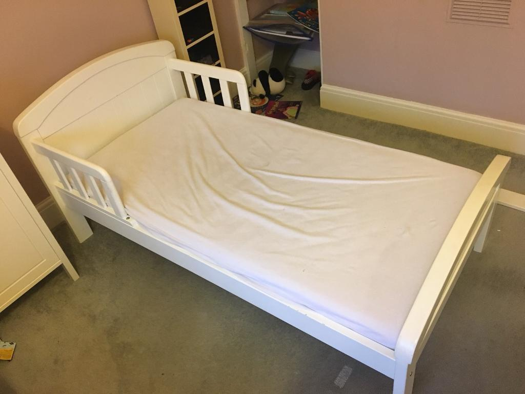 Toddler/Junior bed with mattress