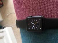 Apple Watch 38mm black sports series 7000