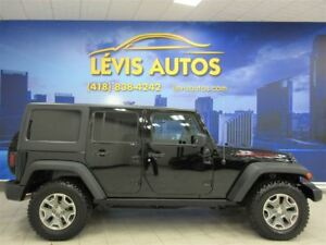 2014 Jeep Wrangler UNLIMITED RUBICON CUIR GPS NAVIGATION 45400 K