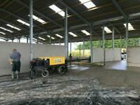 Concrete Laser screed scotland