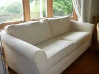 Marks and Spencer Cream Abbey Sofa